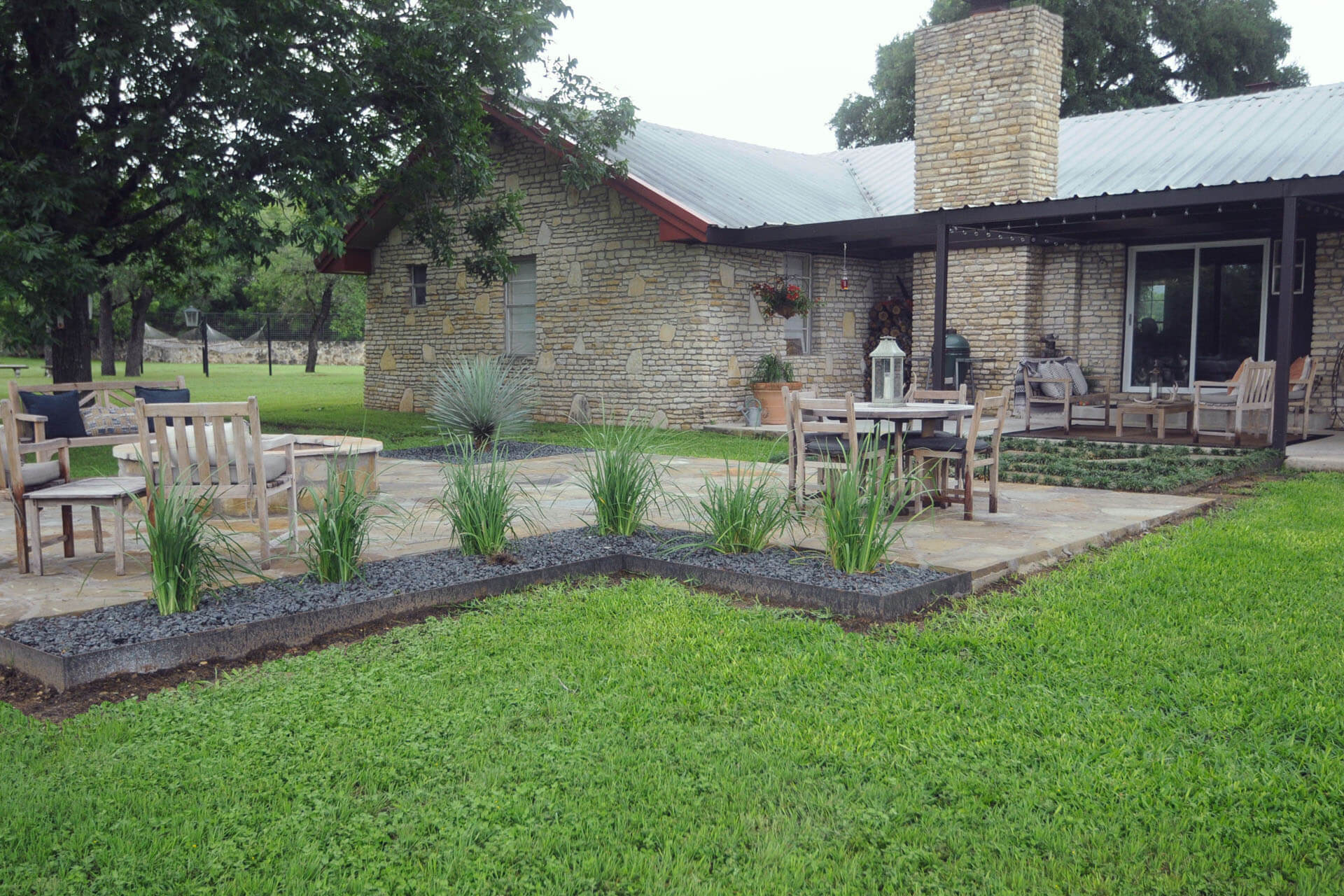Hunt Flagstone Patio