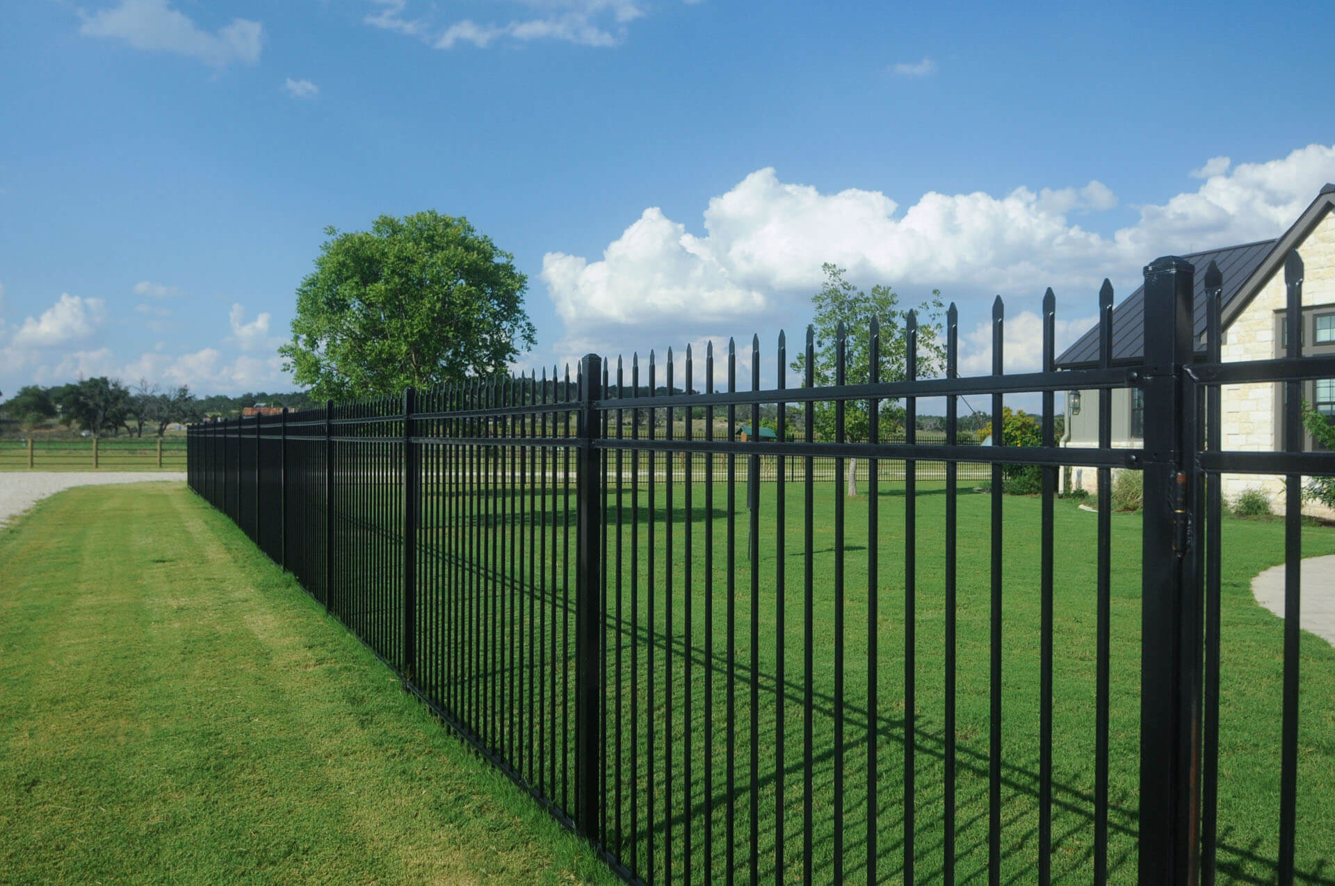 Williams Wrought Iron Fence